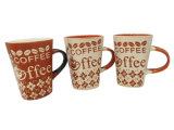 Tazza di caffè lustrata di ceramica
