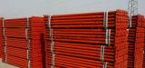 Supports réglables en métal étayant le support pour l'échafaudage