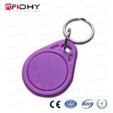 M6 + de microplaqueta de MIFARE Tag duplo Keyfob da freqüência RFID