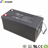Cspower 12V 200ah Solargel-Batterie-tiefe Schleife-Gel-Batterie