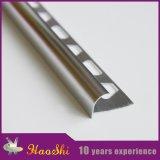 Perfil redondo agradable del aluminio del ajuste del azulejo