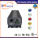 La pianta elettronica della reattanza 630W LED coltiva i kit chiari per il giardino