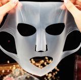 La femelle faciale en soie normale de feuille de masque de 100% masque le masque de massage facial de Vera d'aloès de silicones