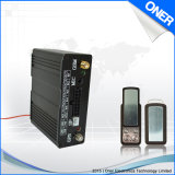 Perseguidor del coche del GPS de la comunicación de dos vías con el sistema de seguimiento del Web
