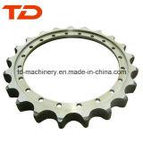 Das peças Digger da estrutura da máquina escavadora de Sumitomo Sh200 roda da movimentação, roda dentada