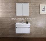 Alto Governo di vanità della mobilia della stanza da bagno dell'acciaio inossidabile di lucentezza (076)