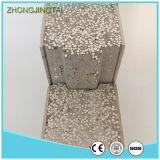 Case prefabbricate espansibili del contenitore del comitato di parete del panino del cemento del polistirolo