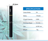 Pluma disponible del vaporizador del petróleo 2016 ninguna pluma disponible vacía del petróleo de Thc del E-Cigarrillo disponible del escape