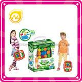 Het grappige Stuk speelgoed van de Koffer van het Kind van het Blok van het Stuk speelgoed van het Blok