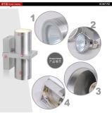 대중적인 LED 벽 빛 옥외를 위한 특별한 디자인 IP54 물 증거