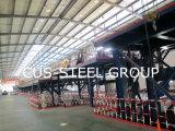 Tettoia prefabbricata chiara fabbricata della struttura d'acciaio dell'officina siderurgica
