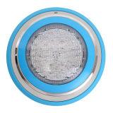 壁に取り付けられた防水12V変更カラープールライトLED水中ライト