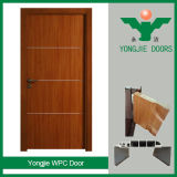 Película del PVC y puerta del panel de WPC