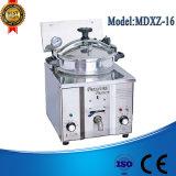 Friteuse profonde de gaz de Mdxz-16 LPG, gaz profond de friteuse, élément profond électrique de friteuse