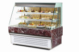 Refrigerador grande de la exhibición de la torta de la panadería