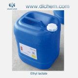 Lactate d'éthyle de qualité excellente No CAS 97-64-3 Lavage électronique