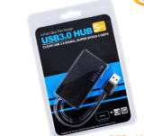 4 cubo do USB 3.0 das portas