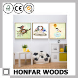 Cadre de tableau en bois de dessin animé pour la décoration à la maison