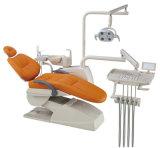 Zähne, die zahnmedizinisches Bleiche-Systems-oralen Gel-Zahn-Weißkocher-Installationssatz weiß werden