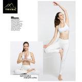 L'yoga di Legging della caviglia delle signore ansima il colore puro