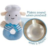 Baby-Geklapper-und Sqeaker Plüsch-Spielzeug