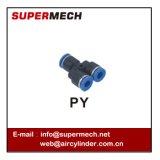 Montaggio pneumatico di tocco del tubo della filiale un