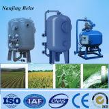 Filtro de agua automático de la arena del cuarzo de la turbulencia de la presión para la purificación de las aguas residuales