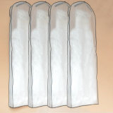 Sacchetto di indumento di vetro traslucido del vestito da cerimonia nuziale del filato dell'indicatore luminoso molle