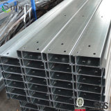 Purlin de aço formado a frio galvanizado da canaleta da construção de aço C