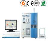 Carbone de portée et analyseur infrarouges de mesure larges de soufre