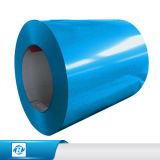 La alta calidad 600-1250m m galvanizó la bobina de acero de la capa del color para la hoja del material para techos