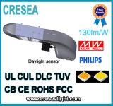 Luz de calle mencionada del garage de estacionamiento de UL/cUL Dlc LED 200W con la cubierta de bronce