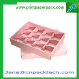 結婚式はギフト包装ボックスチョコレートケーキの荷箱を支持する