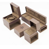 Delicate Square Rectangle PU Leather Jewelry Box (J54-E1)