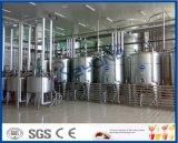 cadena de producción del yogur yogur de consumición del yogur de la taza