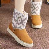 Ботинки новых детей пальца ноги собрания круглых теплые (WX 1)