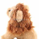 Jouets mous d'animal de lion bourrés par peluche sauvage