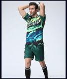 OEMの品質のScooerのワイシャツのフットボールジャージーによって昇華させるポリエステルサッカーのユニフォームか習慣の昇華サッカージャージー