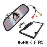 Sistema de monitor de espejo retrovisor de coche con mini cámara de infrarrojos