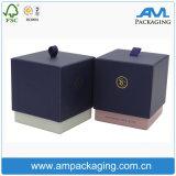 Квадратная таможня 2 части коробки свечки упаковывая с крышкой и основанием