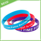 MehrfarbenDebossed Silikon-Armband für Förderung-Geschenk