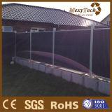 WPC hölzerne zusammengesetzte Spielplatz-Zaun-Plastikwand