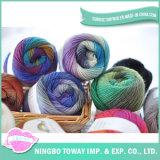 Confeção de malhas Merino Roving fina barata de lãs do Crochet