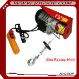 Mini élévateur électrique portatif de câble métallique