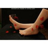 Heiße Fuss-Modell-weibliche Klon Footfetish Spielzeug-Fuss-Geschlechts-Spielwaren
