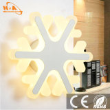 Luces de interior de la lámpara de la luz de la pared de la Navidad cristalina LED del precio de fábrica