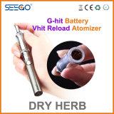 Запатентованный набор батареи металла Vaporizer+Ghit Reload Seego Vhit для сухой травы