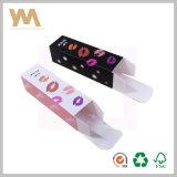 Rectángulo de empaquetado del nuevo lápiz labial del diseño con la impresión de encargo