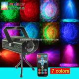 원격 제어를 가진 빛이 LED 워터마크 빛 RGB LED 디스코 경수에 의하여 잔물결이 일는다