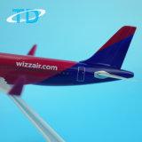 Модель плоскости пластичного материала A320neo Wizz 18.8cm выдвиженческая